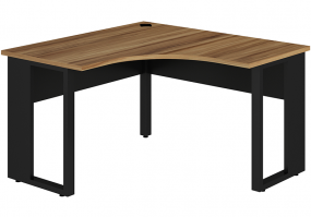 Mesa-angular-pe-quadro-Gebb-Work-nogal-preto